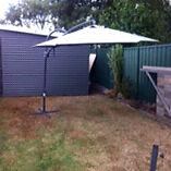 2x large umbrellas Cambridge Park Penrith Area Preview