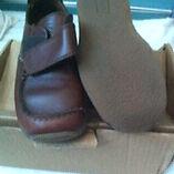 Brown Next boys shoes size 12