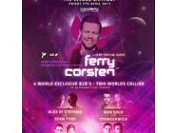 4x Collider Ferry Corsten O2 Academy Tickets for sale