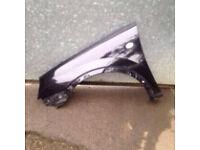 Corsa c 2005 passenger wing in black z20r 07594145438