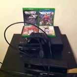 Xbox one 1 remote kinect 6 games and mic