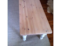 Beautiful Solid pine Coffee table