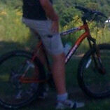 Lost mountain bike