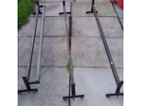 Van roof bars. Removed from transit. Bargain. Must go today