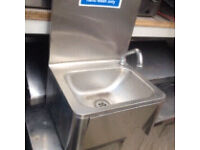 Commercial hand wash sink unit