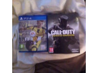 Fifa 17 + call of duty infinite warfare ps4