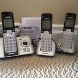 V Tech phones with Answering machine