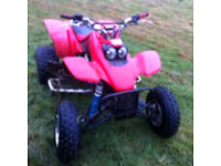 Honda trx 400 ex quad bike crosser