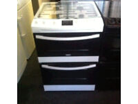 PRP £449.99 EX-DISPLAY FULLY GAS COOKER COMES WITH A WARRANTY AVAILABLE IN BLACK