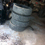 4 15in winter tires need gone