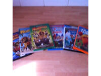 Madagascar 1&2, Merry Madagascar. The Lorax, Flushed Away & Gnomeo&Juliet DVDs