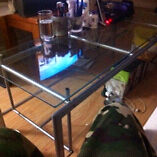Glass coffee table want gone $30