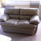 Free leather sofa. Fairlight Manly Area Preview