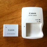 Battery for a canon digital camera
