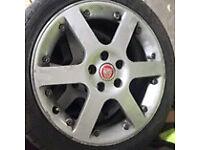 "Ford / jag alloy wheels 17"""