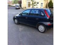 Vauxhall corsa 1.2 5 doors