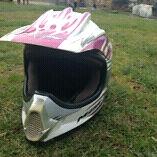 Kids Motorbike helmet and neck brace  South Riana Central Coast Preview
