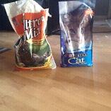Manger et litiere pour chat