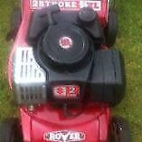 suzuki  great condition lawm mower,, lawn mower