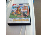 The Lucky Dime Caper Donald Duck - Master System game