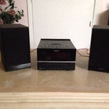Sony Ipod dock stereo and speakers