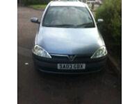 Vauxhall Corsa, Spares an repairs