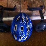 Free helmet and training wheels Stockton Newcastle Area Preview