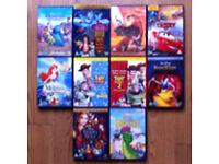 DISNEY DVDs