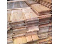 Shiplap shed cladding