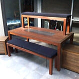 Table, benches, Eski, storage Balgowlah Manly Area Preview