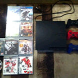 PS3-3 Controllers-10 games
