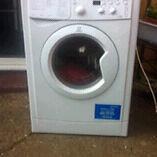 7.5 kg indesit washing machine