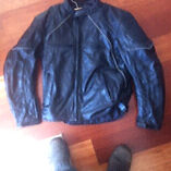 Torque leather motor bike jacket XL Blaxland Blue Mountains Preview