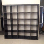 Black-Brown 5x5 Bookcase Point Cook Wyndham Area Preview