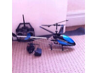 Large 2.4ghz remote control rc radio helicopter