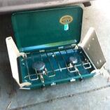 Near new jackaroo portable 2 burn gas stove Northcote Darebin Area Preview
