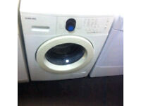 SAMSUNG WASHING MACHINE COMES WITH A FULLY WORKING STORE WARRANTY