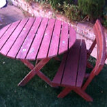 Free outdoor table and bench for pickup in paddington  Woollahra Eastern Suburbs Preview
