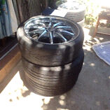 New car tyres with rims $580 negotiable Kingston South Canberra Preview