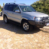 2003 Toyota Landcruiser Prado grande auto 4x4 wagon Willetton Canning Area Preview
