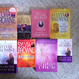 Sylvia Browne collection of books