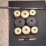 Bar Bell Weights and Bars