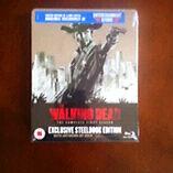 Walking dead season 1 Blu ray steelbook Limited to 4000 and Rare