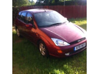 2001 focus, long mot 1.8 petrol