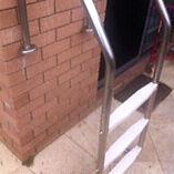 Pool Steps - Stainless Steel Pool Ladder Mullaloo Joondalup Area Preview