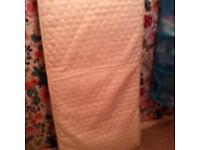 Free toddler bed mattress