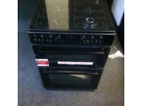 STOVES DURL FUEL GAS COOKER FREESTANDING BLACK COOKER COMES WITH A FULLY WORKING WARRANTY