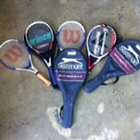 Assorted Tennis Racquets (Slazenger, Wilson + Pro Kennix) Bunbury Bunbury Area Preview