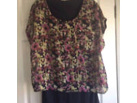 New Next blouse with vest attached.