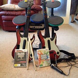 Guitar hero5 and band hero Henley Beach South Charles Sturt Area Preview